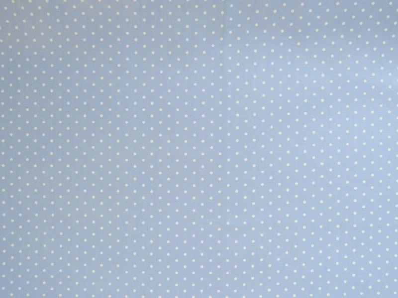 estampa azul claro poa