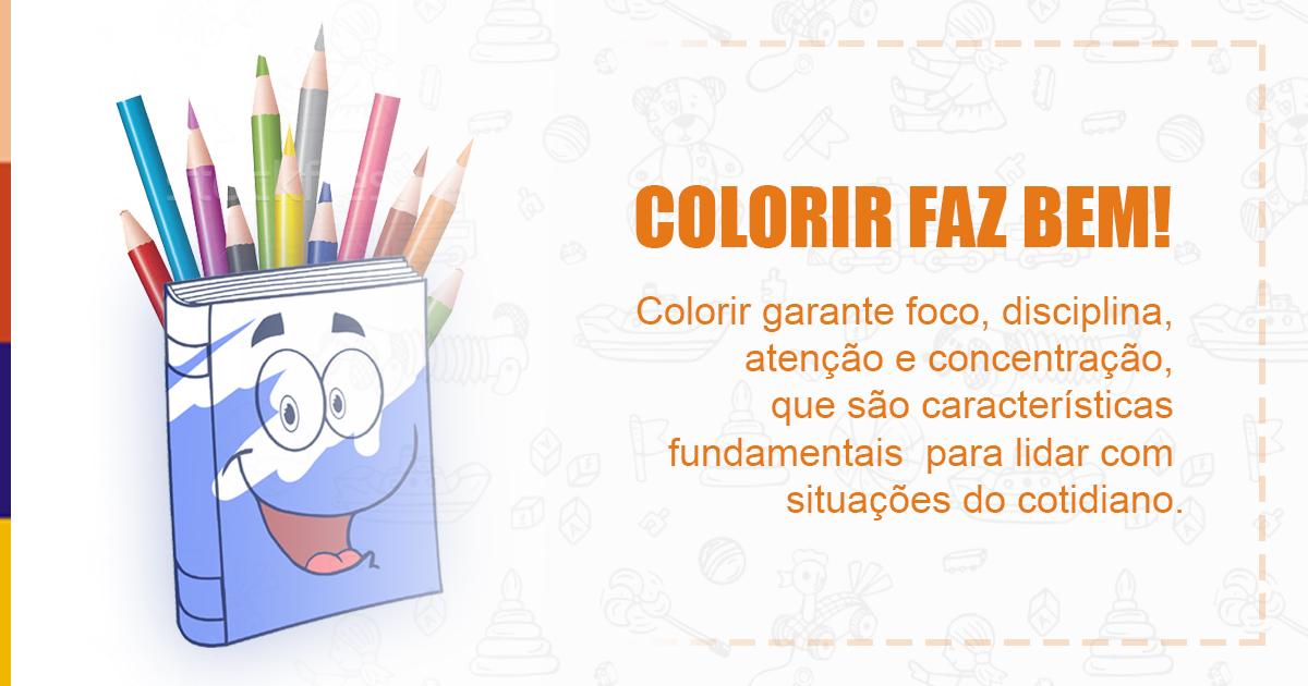 Benefícios Do Livro De Colorir