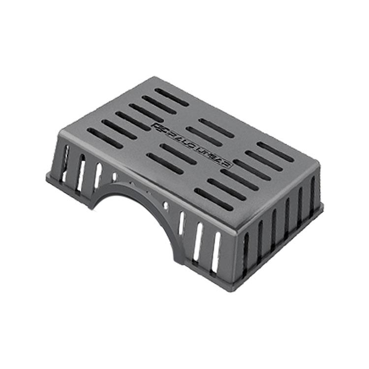 Kit Sifão Horizontal com Grade Retentora para Ralo Elleve Smart