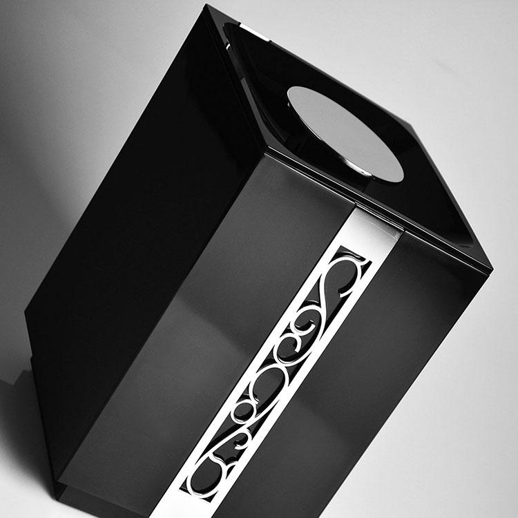 Lixeira de Chão 5 Litros Café Paris para Banheiros e Lavabos