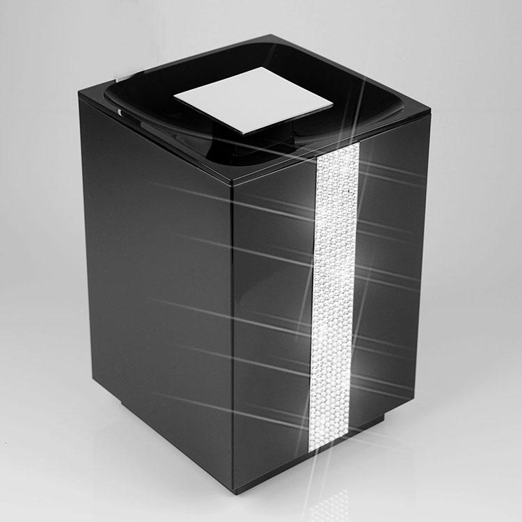 Lixeira de Chão 5 Litros Glam para Banheiros e Lavabos