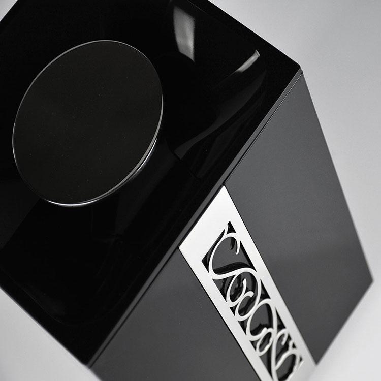 Papeleira de Chão com Lixeira 5 Litros Café Paris para Banheiros e Lavabos