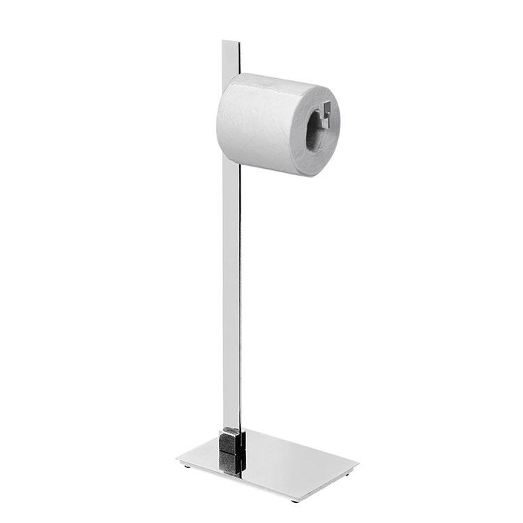 Papeleira de Chão Simples 106061 para Banheiros e Lavabos