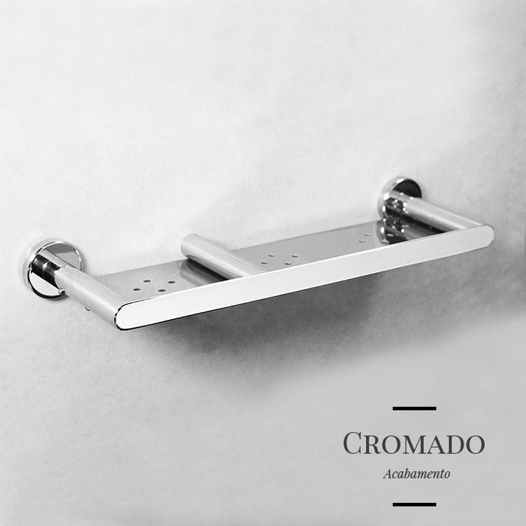 Porta Shampoo 107070 para Banheiros e Lavabos