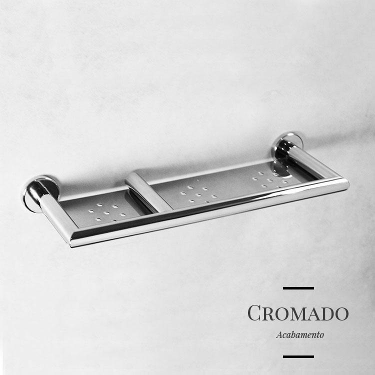 Porta Shampoo 10913 para Banheiros e Lavabos