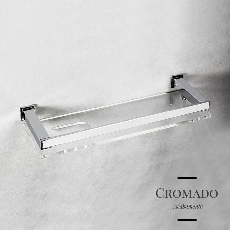 Porta Shampoo 4007 para Banheiros e Lavabos