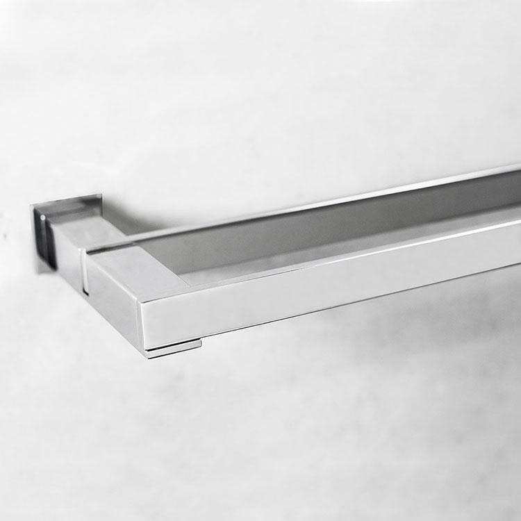 Porta Toalha Duplo 4007 com 60cm para Banheiros e Lavabos