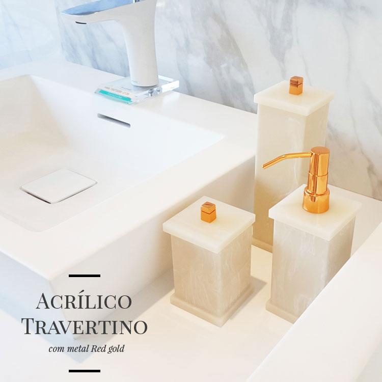 Saboneteira Líquida Duo para Bancadas de Banheiros e Lavabos
