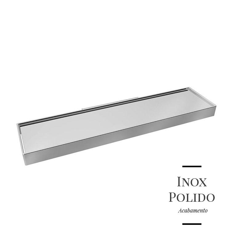Prateleira em Inox One para Banheiros e Lavabos