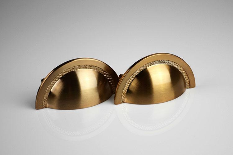 Puxador Shell estilo Concha para Gavetas e Armários