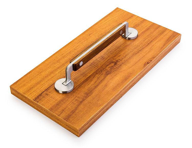 Puxador Manico di Coltello Wood para Gavetas e Armários