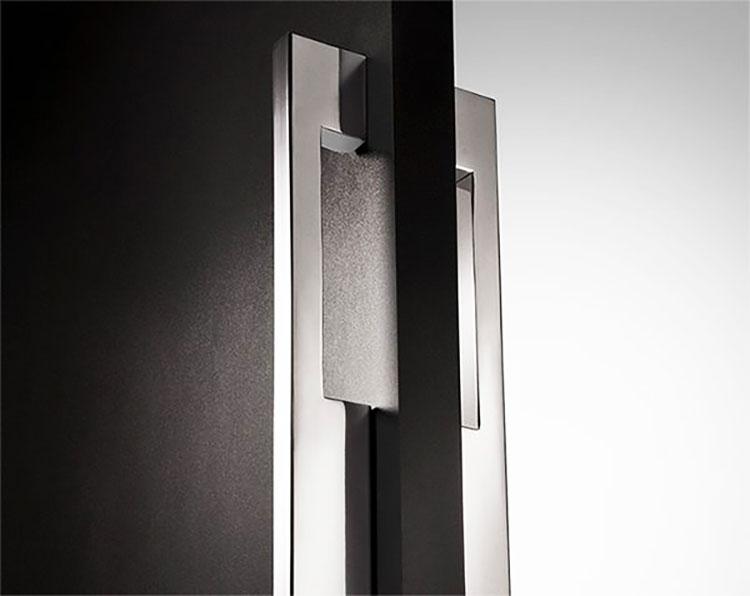 Puxador de Porta 2059 em Inox 304 Duplo (2 pçs)
