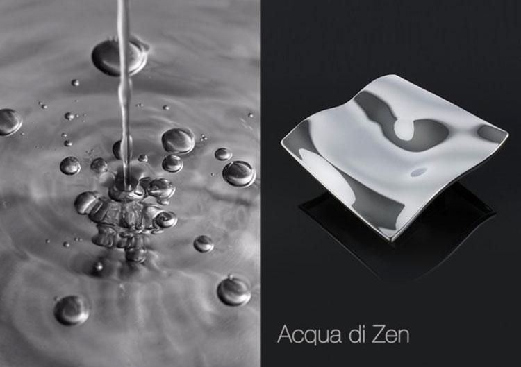 Puxador de Porta Acqua di Zen Duplo (par)