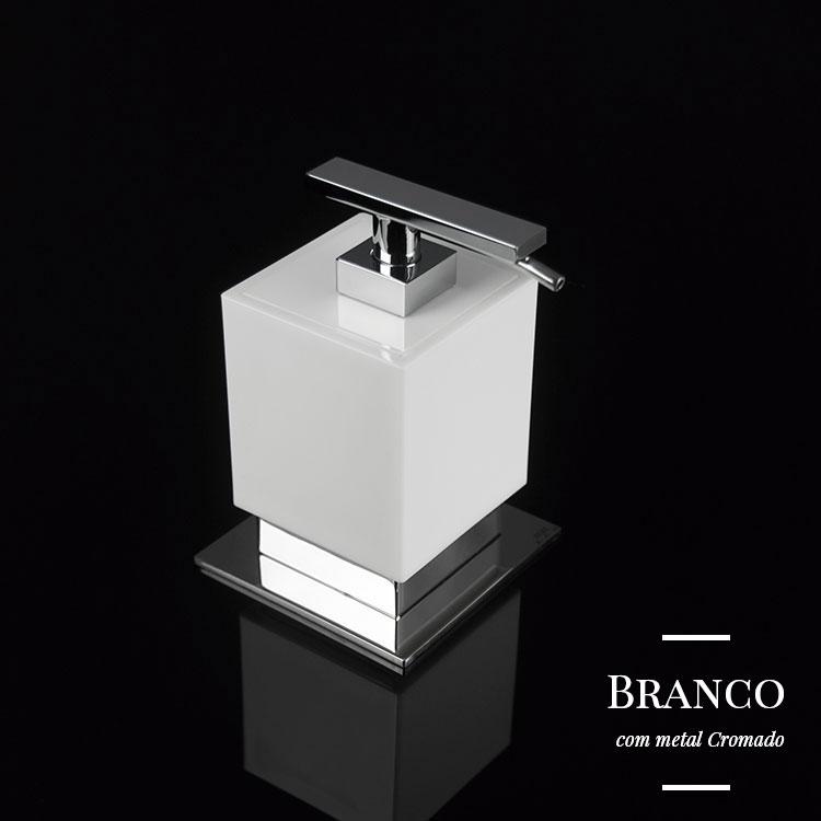 Saboneteira Líquida de Balcão Be para Banheiros e Lavabos