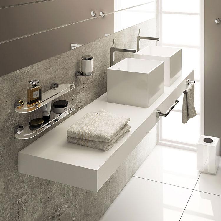 Toalheiro de Rosto Anello para Banheiros e Lavabos