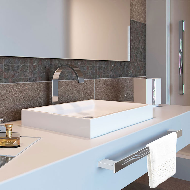 Toalheiro Simples Animale para Banheiros e Lavabos