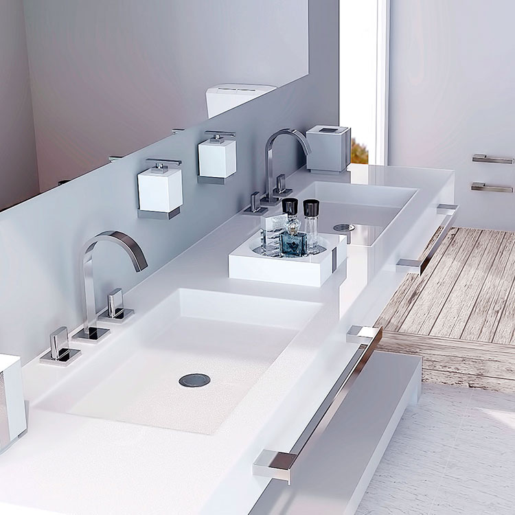 Toalheiro Simples Be para Banheiros e Lavabos