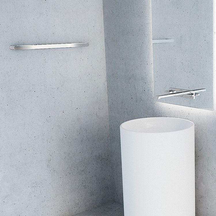 Toalheiro Simples Miss para Banheiros e Lavabos