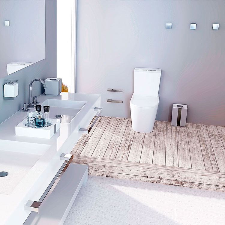 Toalheiro Simples One para Banheiros e Lavabos