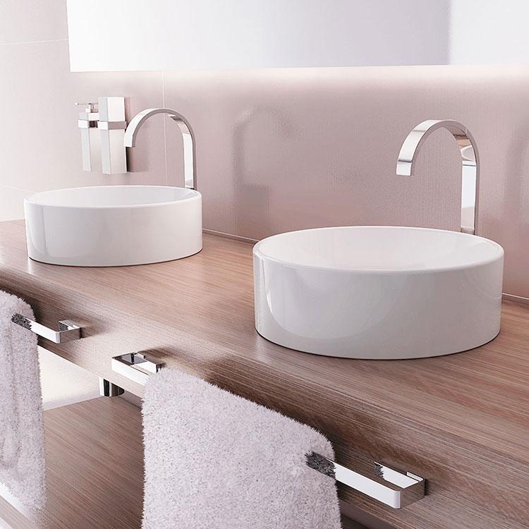 Toalheiro Simples Spirit para Banheiros e Lavabos