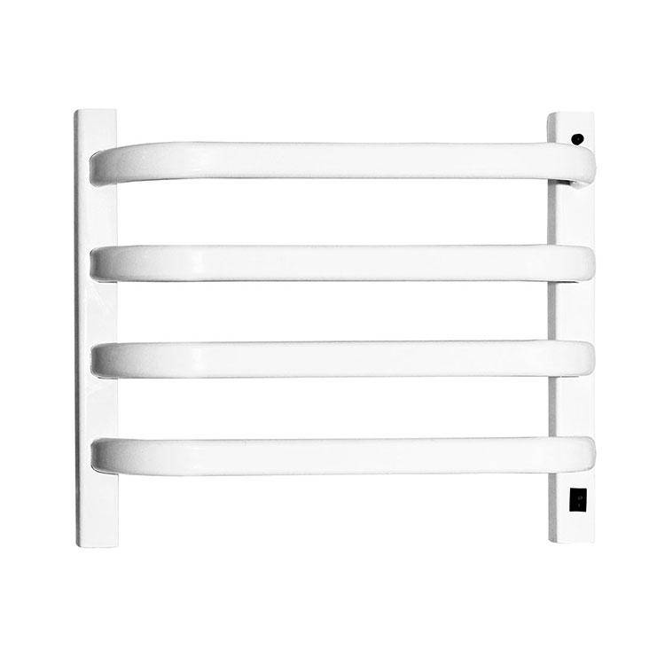 Toalheiro Térmico de Parede Branco Pequeno 39x43cm KEBRPM para Banheiros e Lavabos