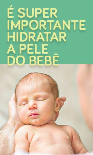 Loção hidratante para bebê