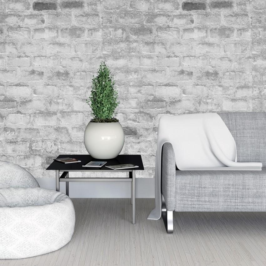 Papel de parede adesivo lavável para sala