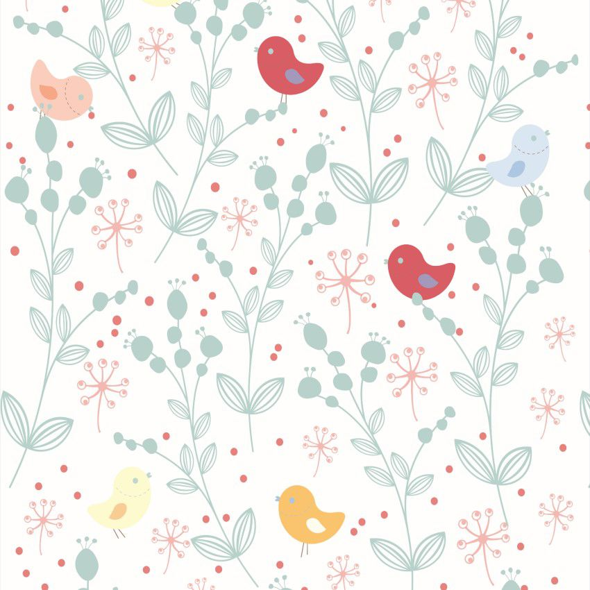 Papel de Parede Floral CO-208