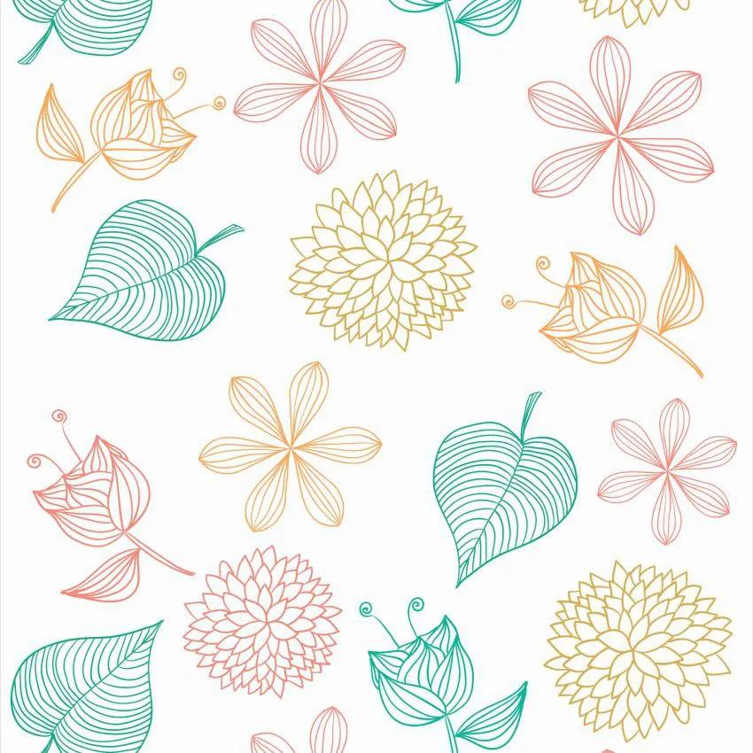 Papel de Parede Floral CO-207