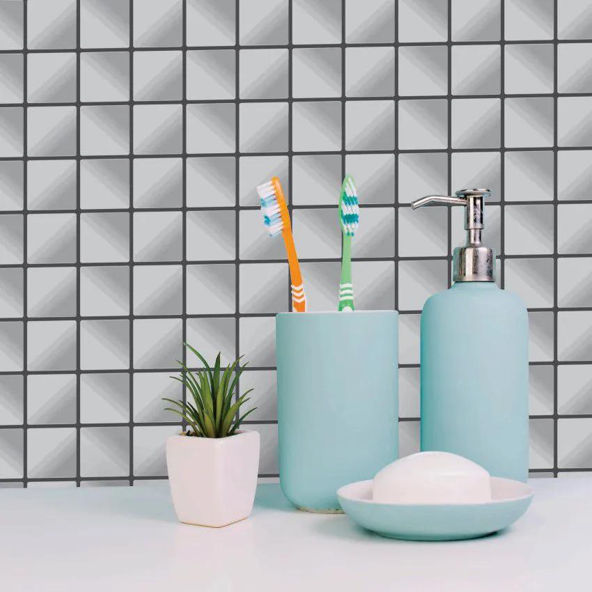 Papel de Parede Para Banheiro Pastilha CO-504