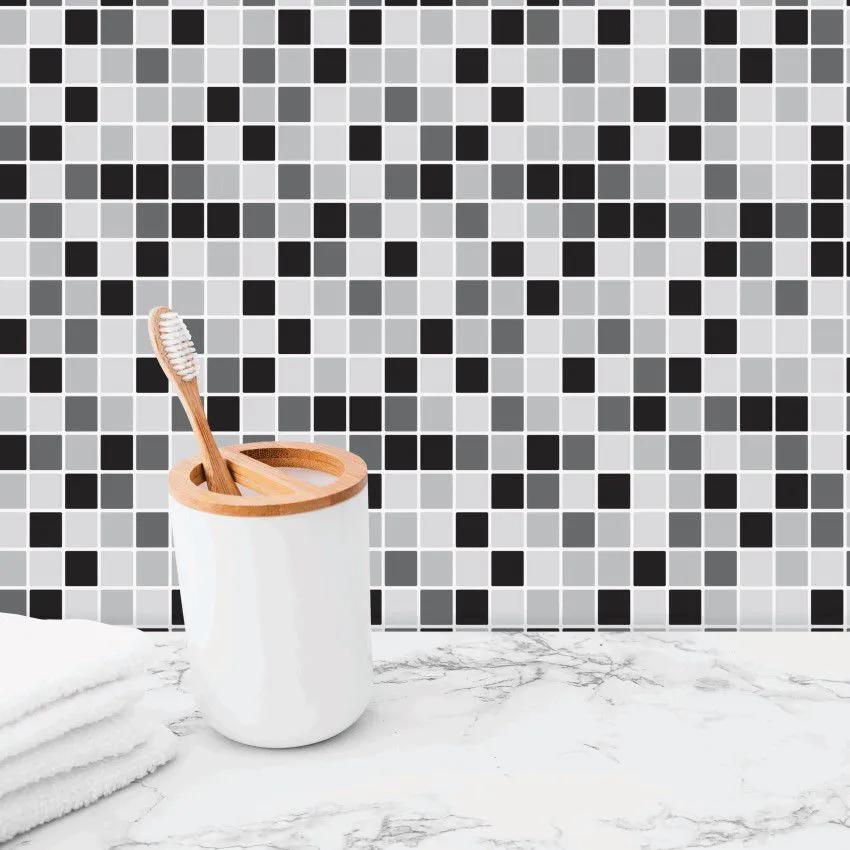 Papel de Parede Para Banheiro Pastilha CO-511