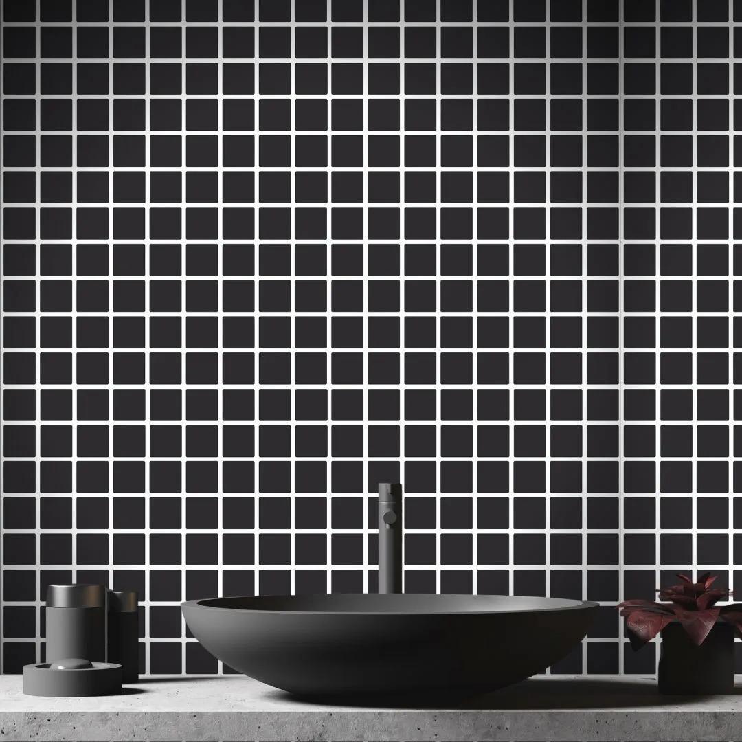 Papel de Parede Para Banheiro Pastilha CO-512