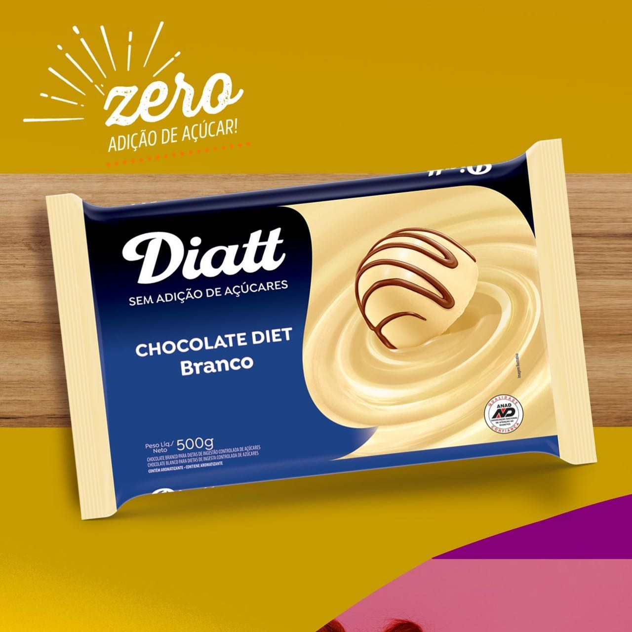 Chocolate Branco Diet Diatt