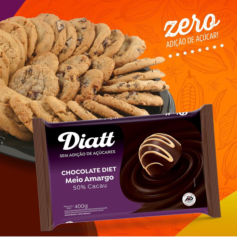 Chocolate Diet Meio Amargo Diatt