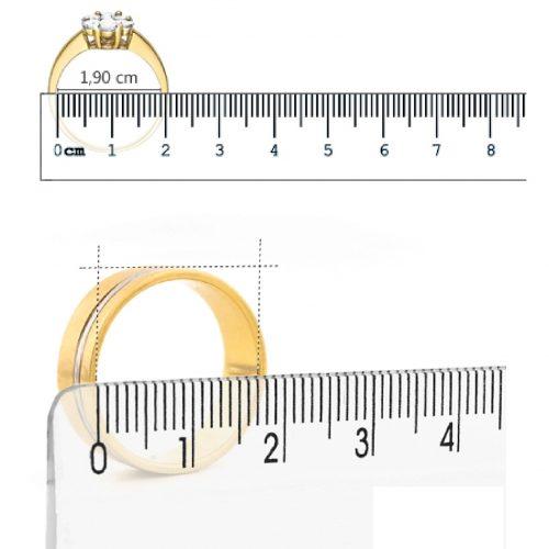 Como medir aro com anel