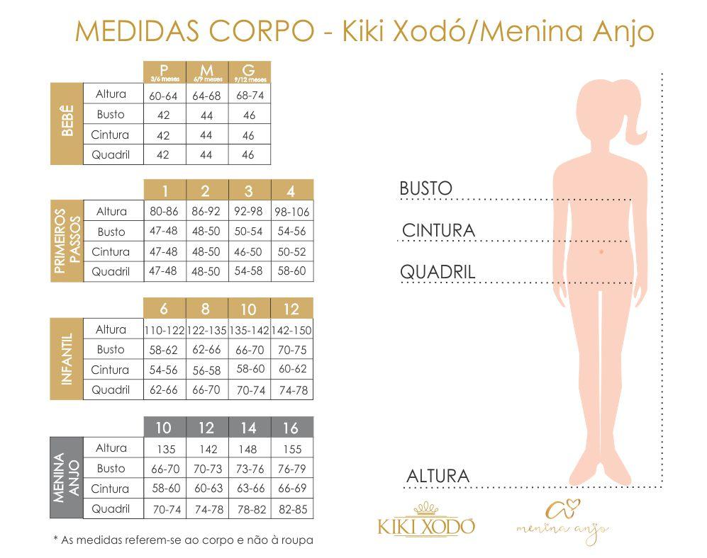 Macacão Infantil Menina Verão em Jacquard e Malha Texturizada Floral Tam 1 a 4 – Kiki Xodó