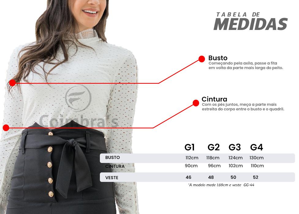 Camisa Plus Size Moda Evangélica e Moda Executiva