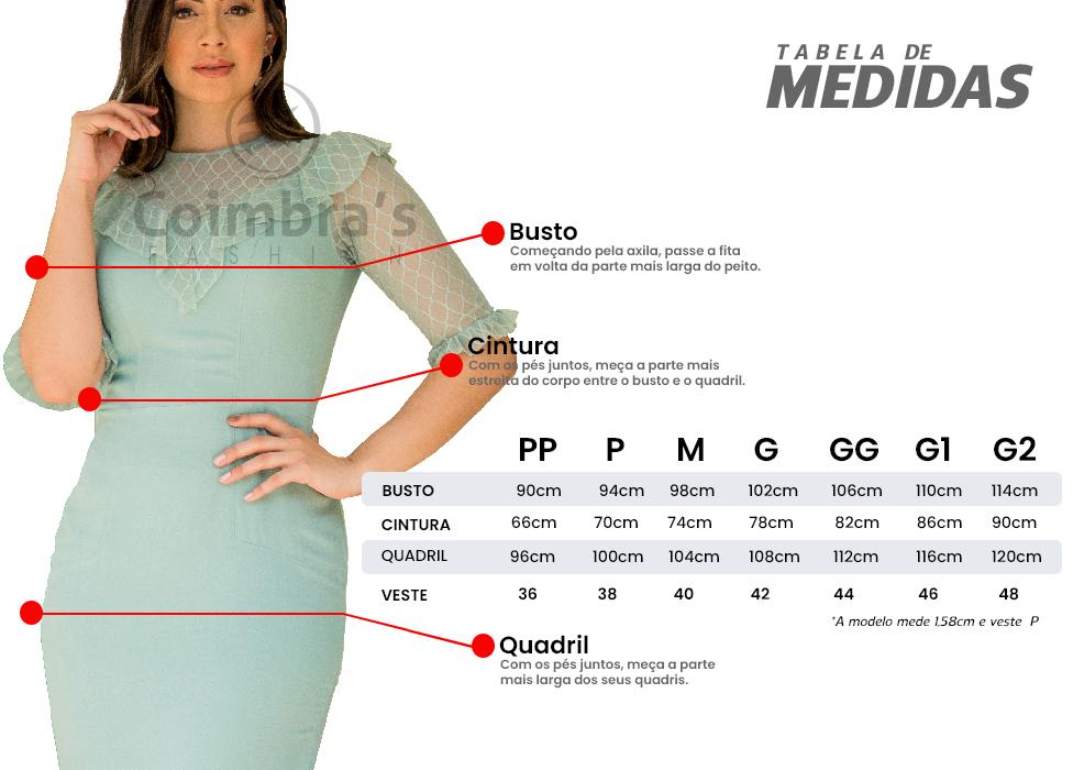 Vestido Tubinho moda Evangélica e Moda Executiva