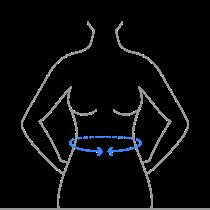 Medição cintura