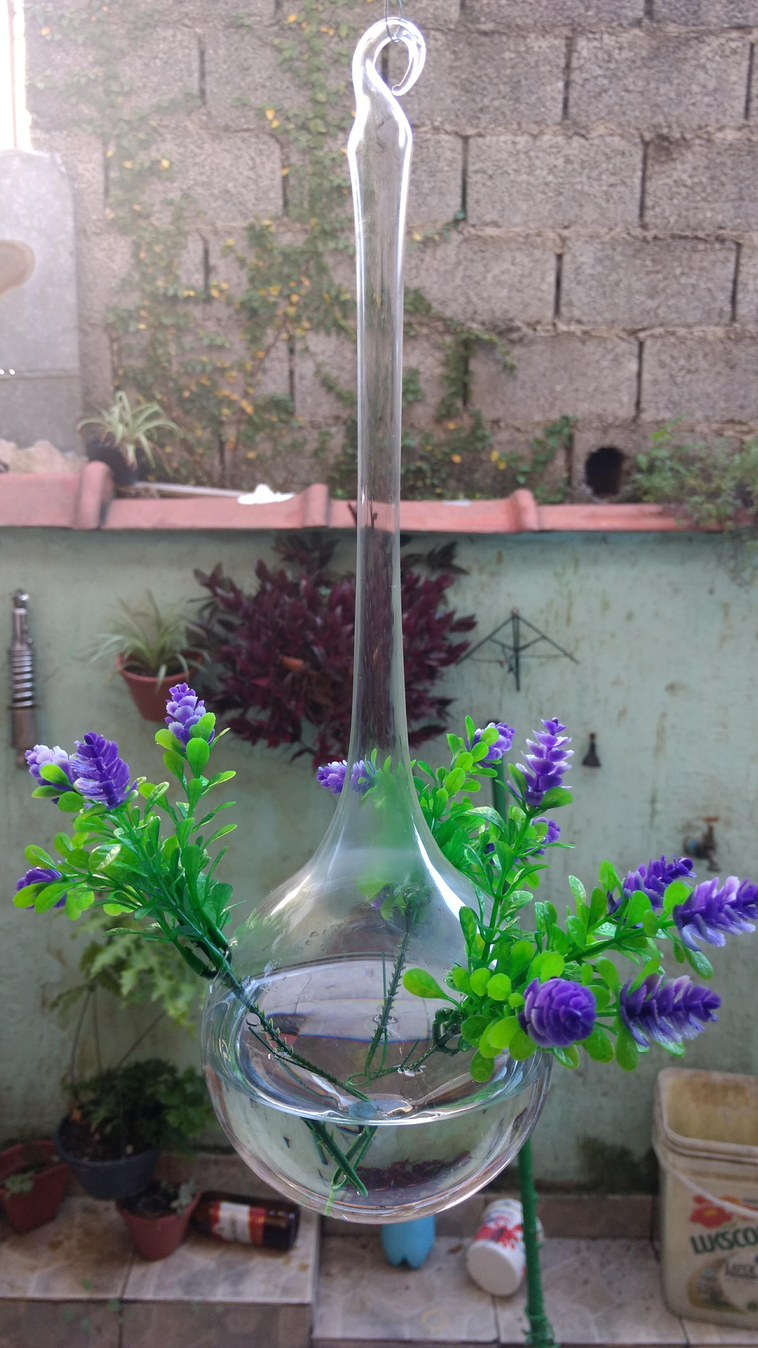 Gotão de Vidro Para Decoração Com Flores