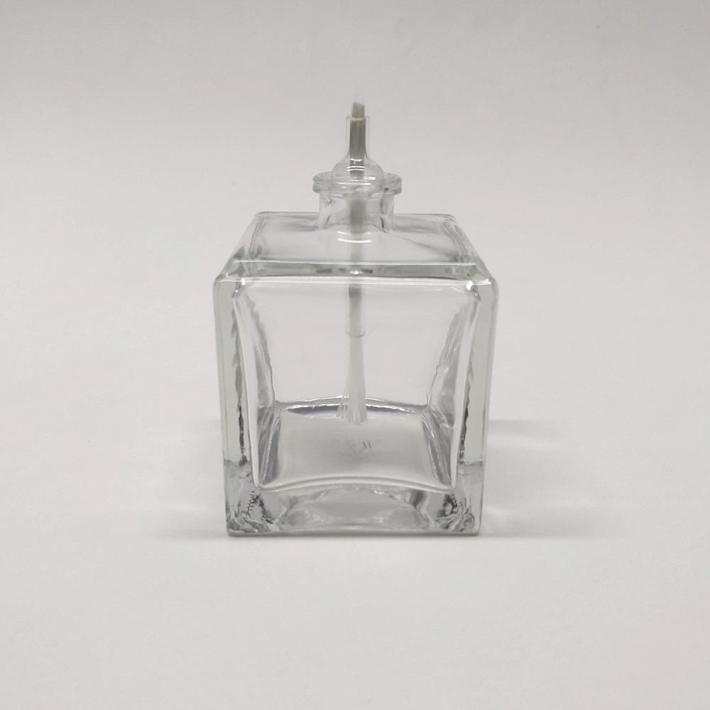 Lamparina de Vidro Cubo
