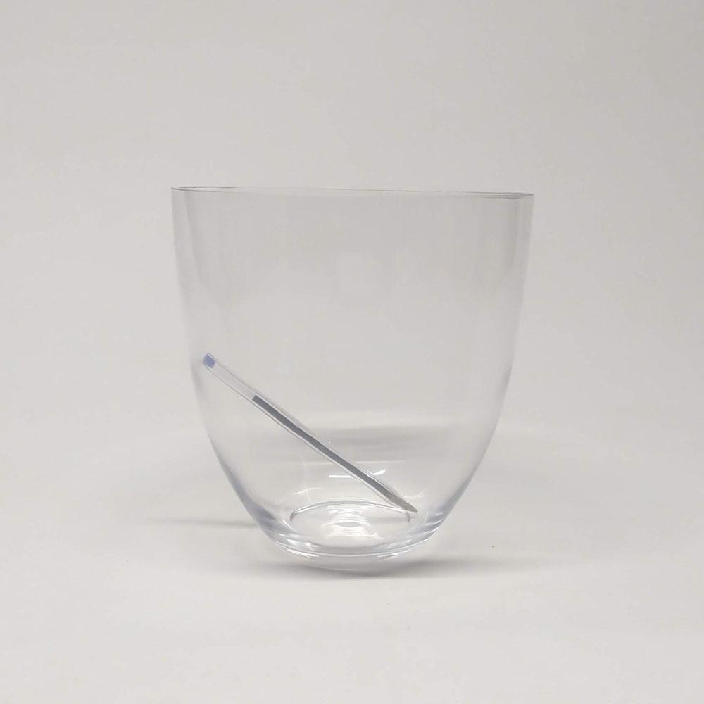 Vaso de Vidro Pote Lotte