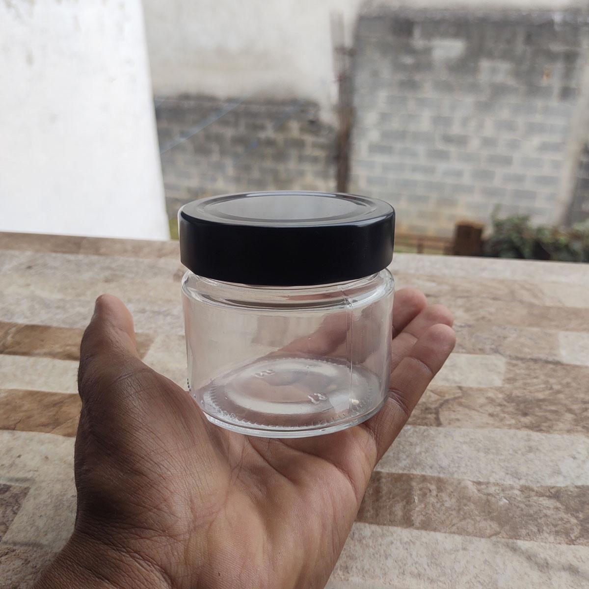 Pote de Vidro La Pianezza 210 ml - cx 10 uni.