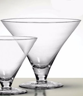 Taça de Vidro Martini