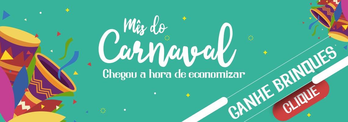 Mês do Carnaval com Brindes