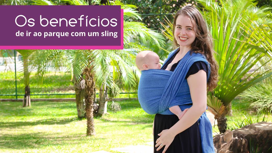 Os benefícios de ir ao parque com um sling BabyGrude