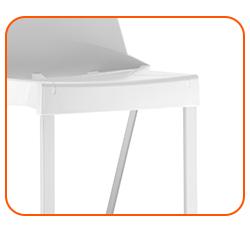 Assento em resina termoplástica