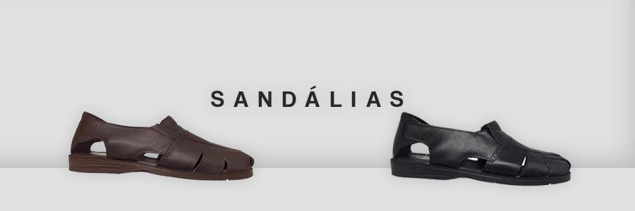 Banner de categoria, sandalias Masculinas