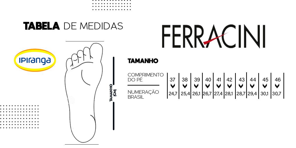tabela ferracini