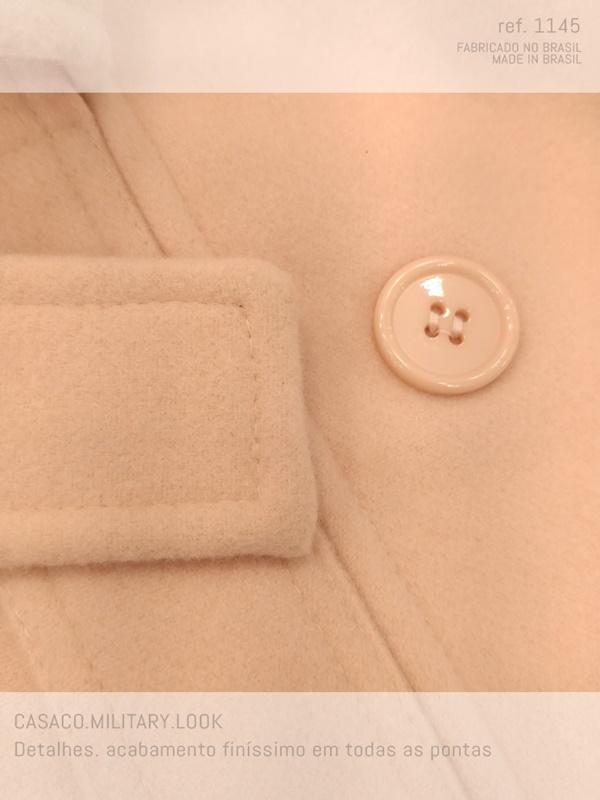casaco lã produzido com mito carinho e capricho